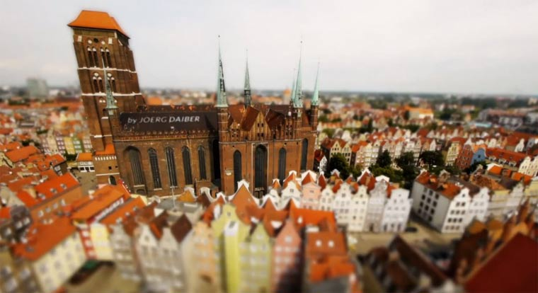 Tilt-Shift-Portrait: Pocket Poland