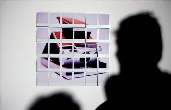 Das Polaroid-Polaroid-Mosaik
