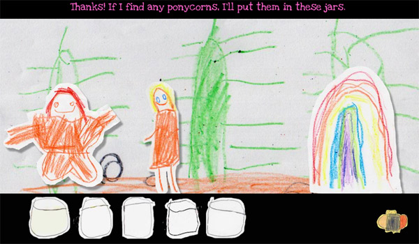 WTF?-Game:  Kindliche Jagd nach Ponycorns