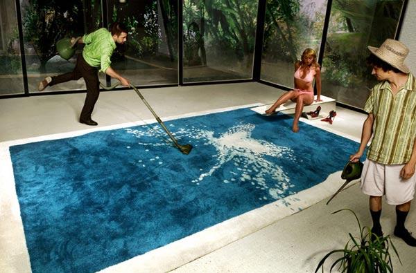 Der Swimming Pool Teppich