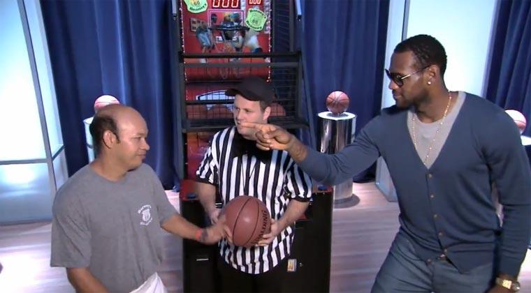 Tellerwäscher macht NBA-Stars nass