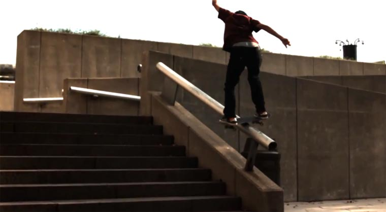 Slowmotion-Skateboarding: Pretty Sweet