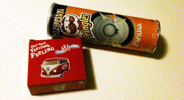 Pringles-Dosen-Lautsprecher & Gewinnspiel