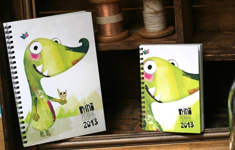Königliche Bescherung: Gewinnt toll illustrierte Kalender von prinzapfel
