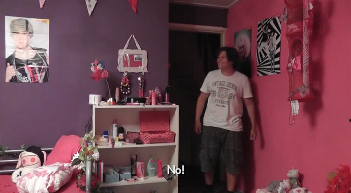 zur Rache: Das Jungenzimmer pink gestrichen
