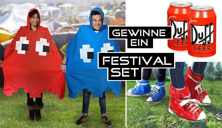 Gadgets des Monats: gewinnt ein Festival-Set!