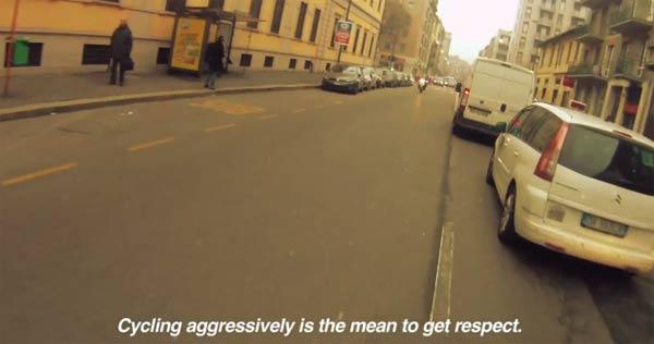 Kurzdoku: Fahrradkurier in Mailand