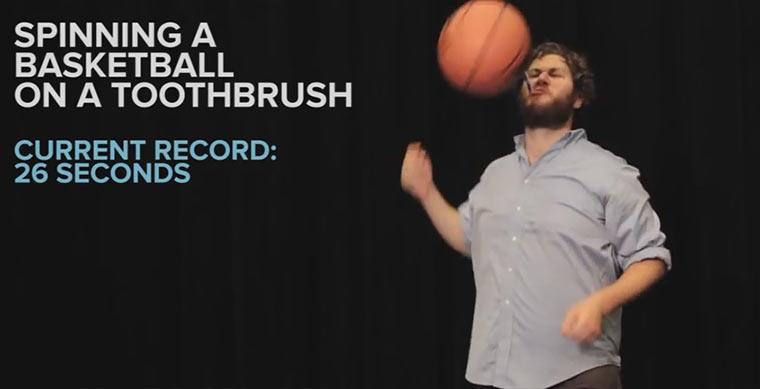 Weltrekord im keine Weltrekorde-Aufstellen