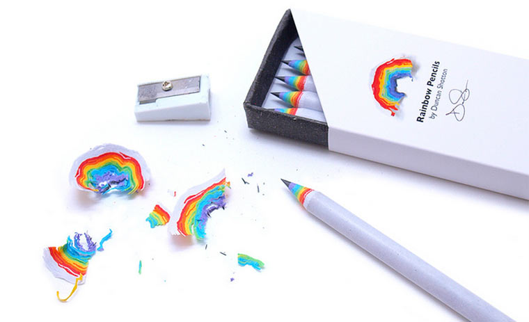 Regenbogenbleistift