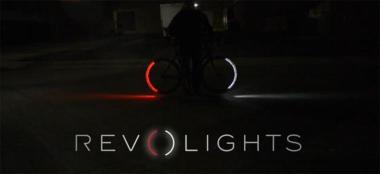 Ein bisschen Tron: Revolights für das Fahrrad