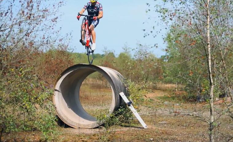 Tricks mit dem Rennrad – Teil 2