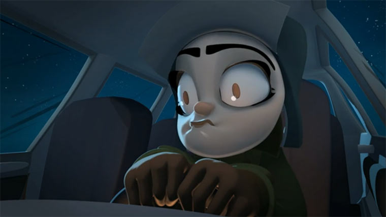 Animated Short: Roadkill Redemption