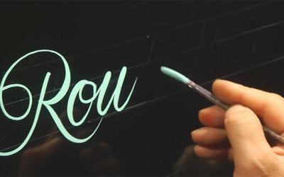 roundletterhandwriting