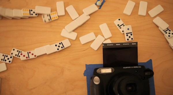 Rube Goldberg Foto-Auslöser
