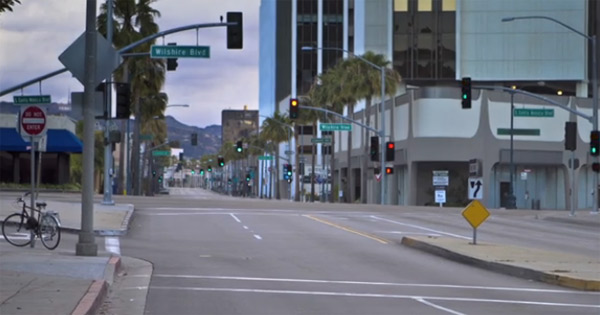 Autofreier Sonntag in L.A.