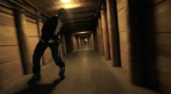 Cool: Durch die Salzmine Skaten