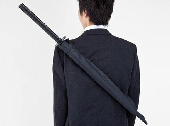 Samurai-Schwert-Schirm