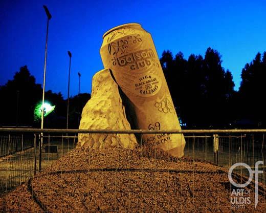 Unglaubliche Sandskulpturen
