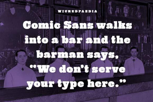 Typography Joke
