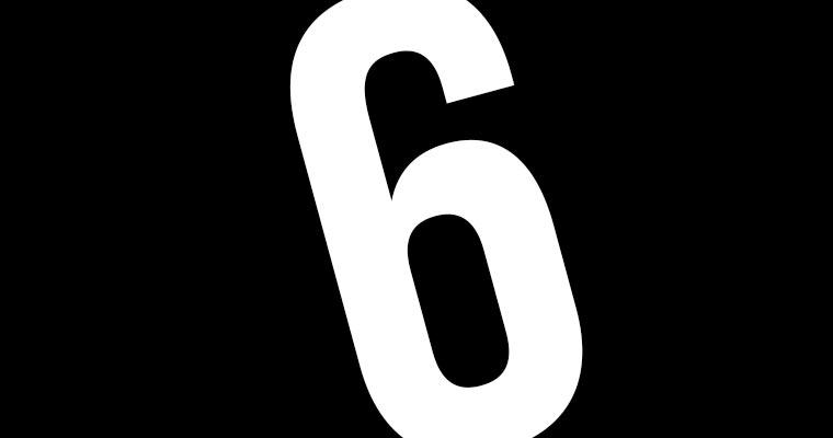 Sechstastisch! sechs