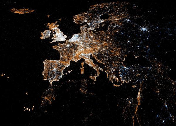 Visualisierung von weltweiten Geotags