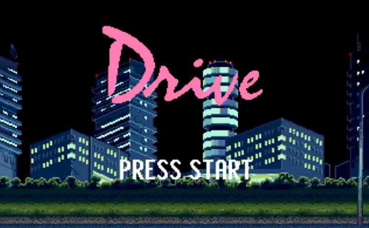 Sega Mega DRIVE (8-Bit-Tribute)