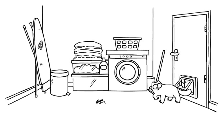 Simon's Cat – Washed Up