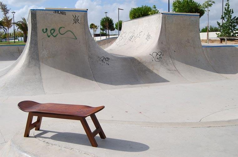 M bel aus skateboards - Skateboard mobel ...