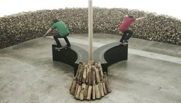 Skate and Create im Holzpark