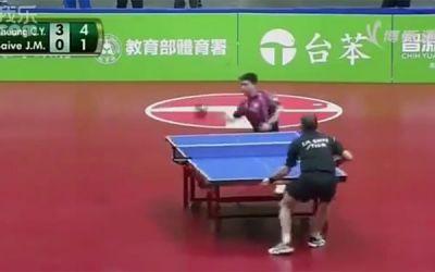 skurrile_tischtennisspiel