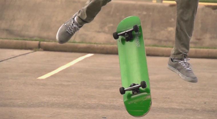 Skateboarding in Superslowmotion