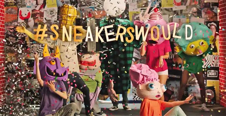 #sneakerswould vs. langweilige Web-Ads