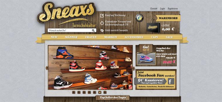 Test & Verlosung: Turnschuhkultur bei sneaxs
