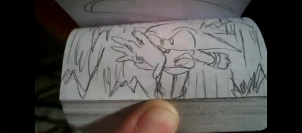 Sonic The Hedgehog Daumenkino
