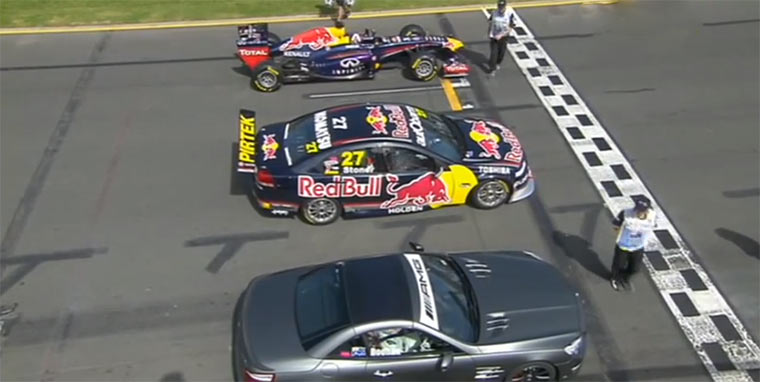 Straßenwagen vs. Rallyecar vs. Formel 1-Bollide