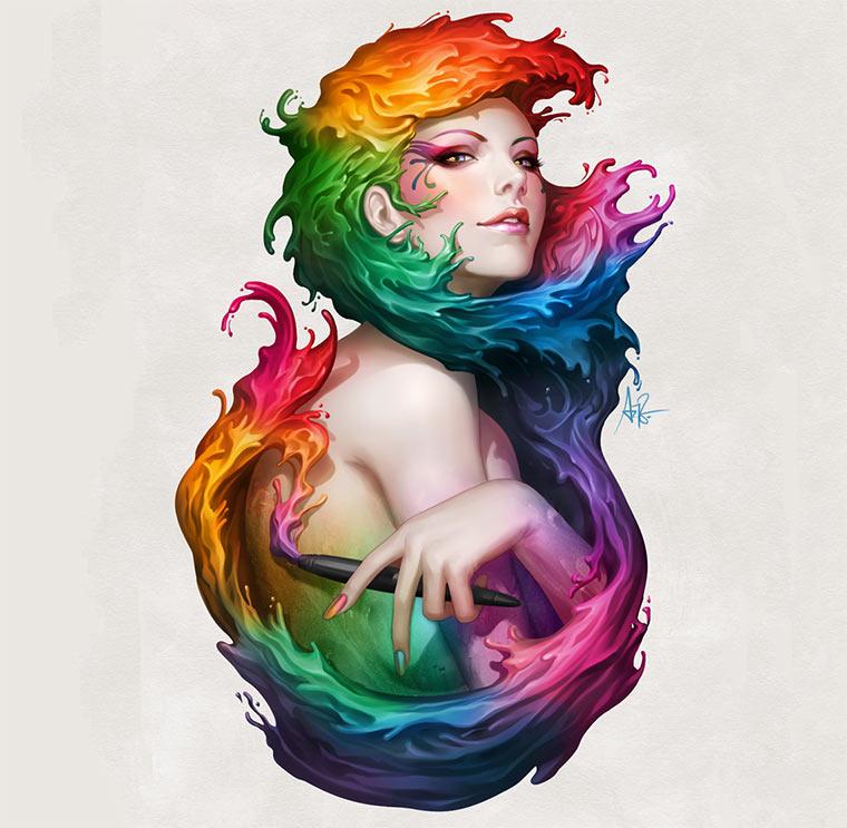 Digital Paintings by Stanley Lau