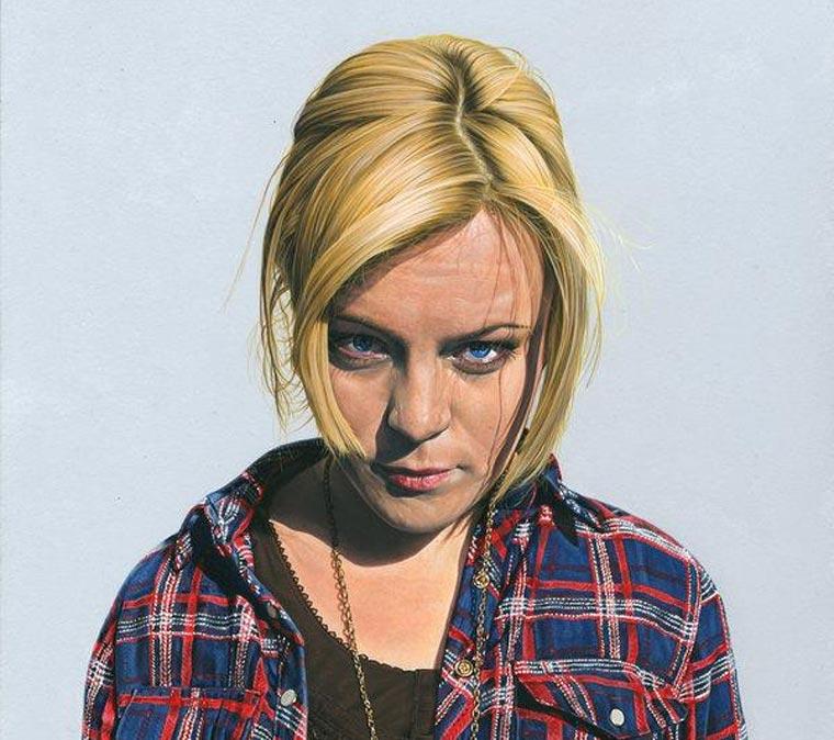 Fotorealistische Portraits: Steve Caldwell