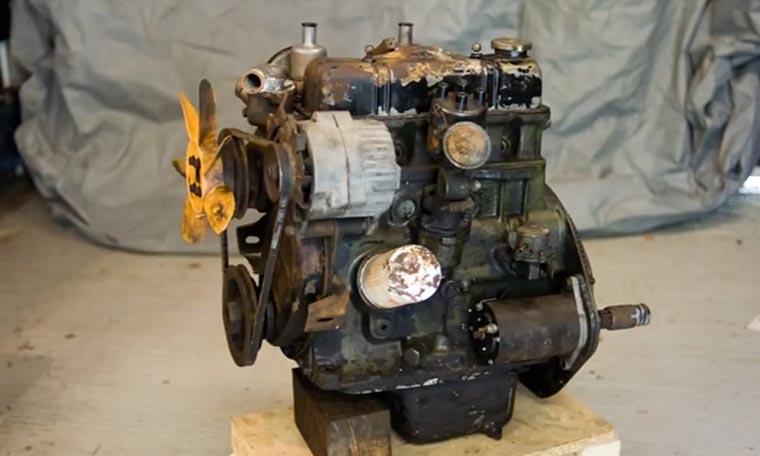 Stopmotion: Motor restaurieren