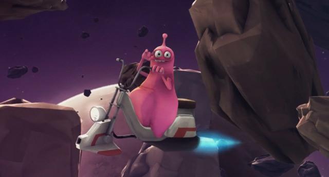 Animated Short: Wenn man im Weltall mal muss