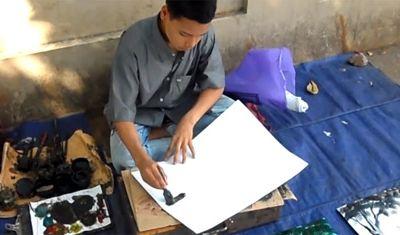 street_painter_Myanmar