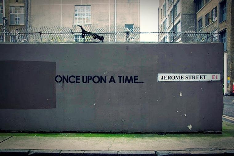 Streetart: Die Geschichte an der Wand