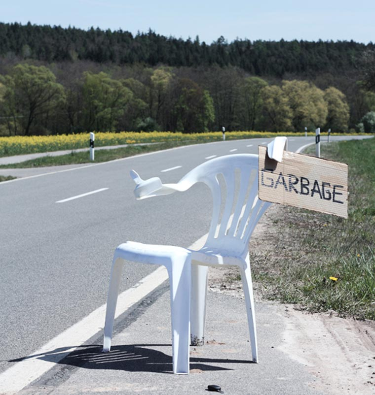 Kunst: Stuhlleben