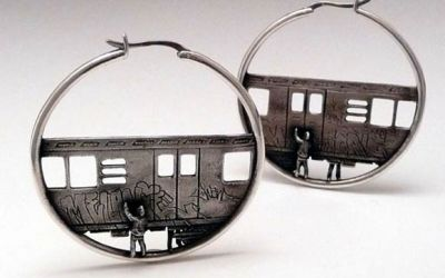 subway_train_tag_earrings