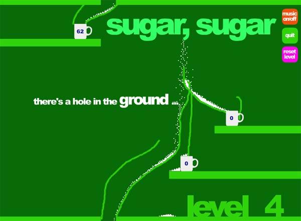 Spiel den Zuckerverteiler