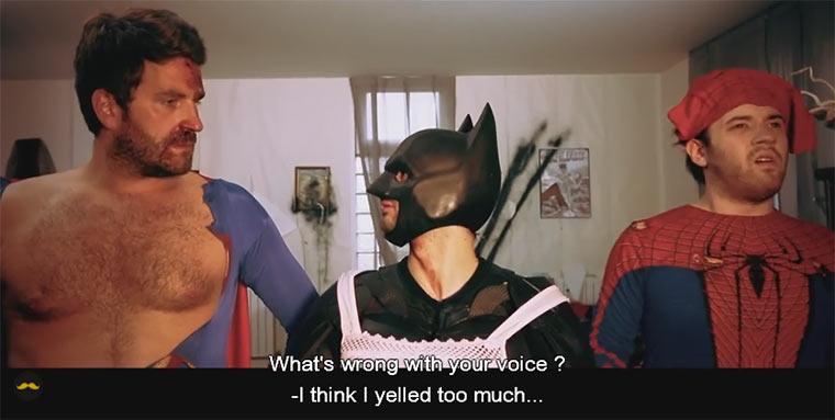 Superhero-Hangover