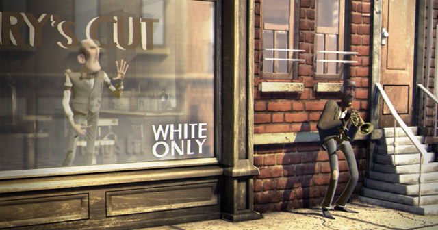 Der rassistische Barbier und die Trompete