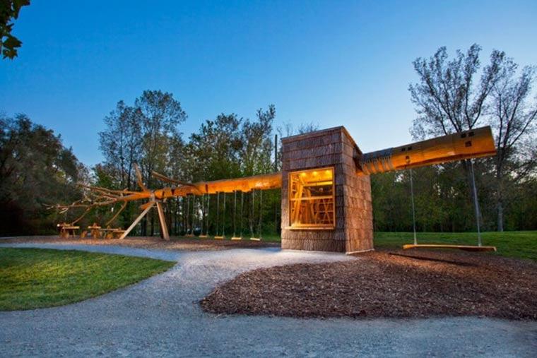 Architektur: Die Baumschaukel