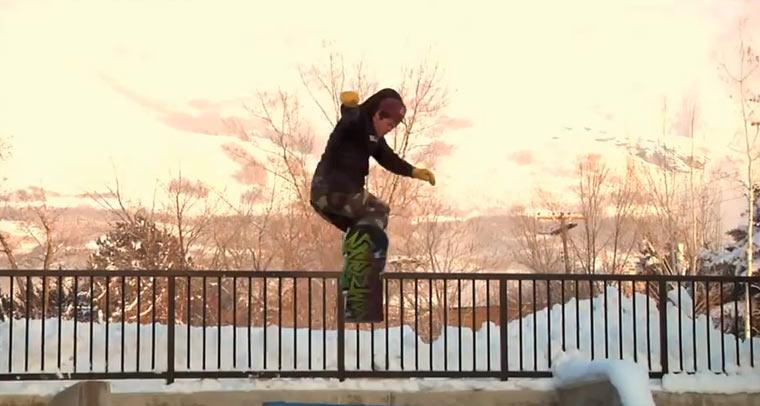 Snowboarding: Take It Easy