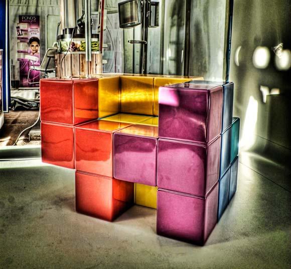 Der Tetris-Stuhl