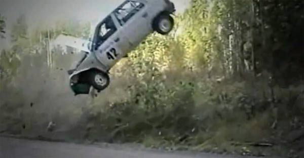 Rallye-Crash Compilation